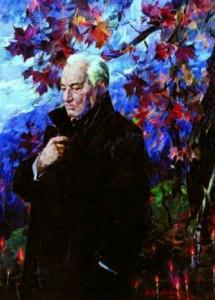 «Над Бабьим Яром. Портрет Ильи Левитаса», худ. Г. Гольд, 2006 г.