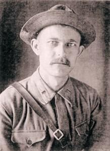 Василий Тарасенко в Таджикистане, 1930 г.