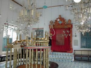 Интерьер главной кочинской синагоги (наши дни)