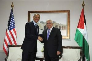 В гостях у палестинского лидера Абу Мазена