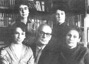 Семья Казакевичей. 1958