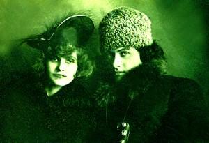 Мария Николаевна Хайт (Морозова) с первым мужем Лайошем Гавро  (военным комендантом Киева)