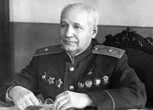 Генерал-майор авиационно-технической службы А.Н. Туполев (1944г.)