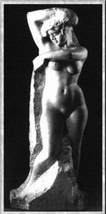 «Обнаженная» – скульптура Сергея Коненкова