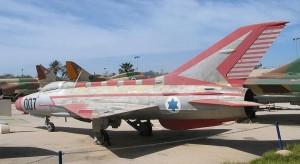МиГ-21 на авиабазе Хацерим, Израиль