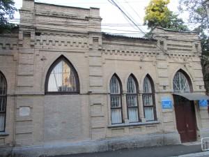 Здание бывшей синагоги по ул.Краснокрестовской