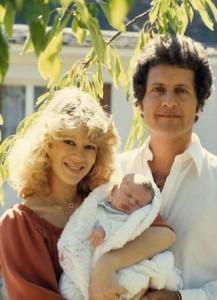 Со второй женой и сыном