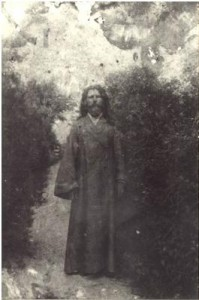 Соборный протодиакон Климентий Кучаровский, который пытался вразумить гайдамаков. Те повалили его на землю и искромсали саблями