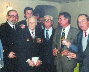 На свое 90-летие среди своих коллег «краснозвездовцев»