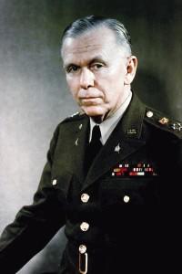 Государственный секретарь США генерал Джордж Маршалл