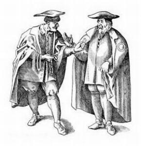 Немецкие евреи, Верхний Рейн, XVI век