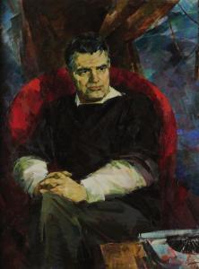Портрет Фазиля Искандера, 1986 г.