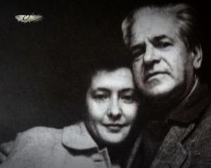 Алексей Каплер и Юлия Друнина