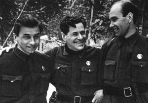 Алексей Каплер на фронте