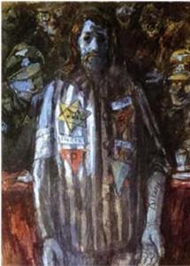 «Се человек» (из серии «Христос в Майданеке»), 1945