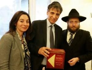С представителями еврейской общины Винницы