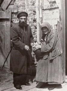 Пожилая пара, Острог, 1925