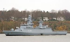 """Корвет МЕКО К-130 класса """"Брауншвейг"""""""