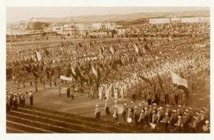 Первая Маккабиада 1932 года в Тель-Авиве