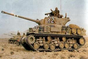 """Танк """"Шерман М51"""""""