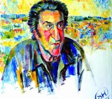 Портрет Игоря Губермана