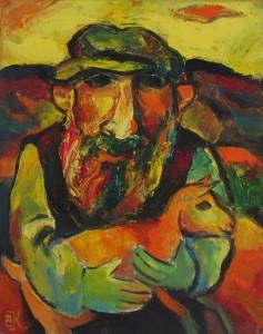 «Еврей с козленком», 2009 г.