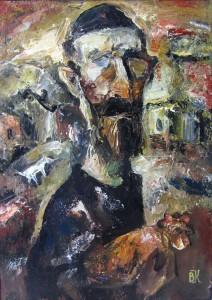 «Еврей с петухом», 2015 г.