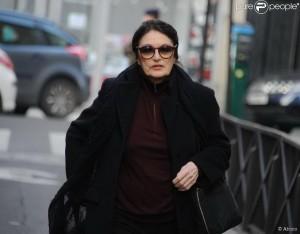 После церемонии памяти режиссера Роже Ханина в парижской синагоге, февраль 2015 г.