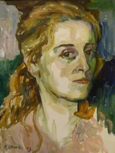 Рафаэль Хволес «Портрет сестры Ривки», 1973 г.