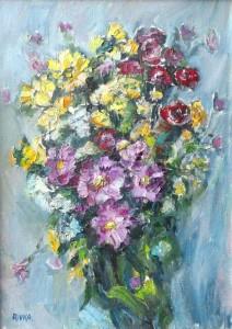 «Букет цветов», 1970-е гг.