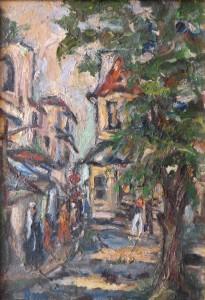 «Тенистая улица в Иерусалиме»