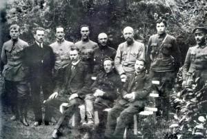 Члены Директории. Каменец-Подольск, 1919 год