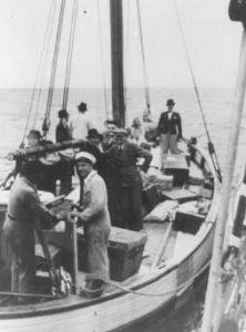 Евреев перевозят из Дании в нейтральную Швецию, 1943 г.
