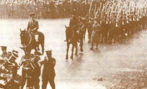 Марш еврейского батальона по улицам Лондона, 1918 г.