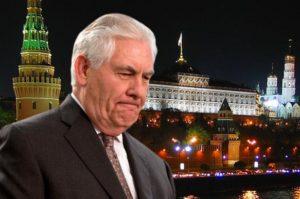 Рекс Тиллерсон в Москве