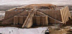 Раскопки храма в древнем городе Ур