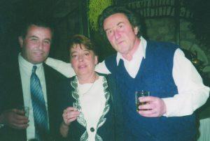 С Игорем Губерманом и его женой Татой