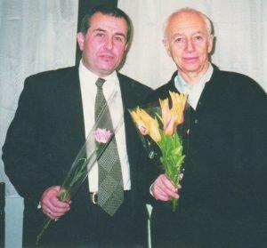 С Александром Городницким
