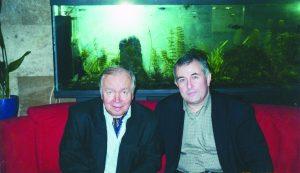 С Андреем Вознесенским