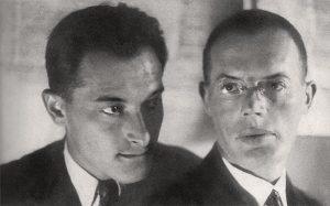 Евгений Петров и Илья Ильф