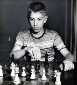 Юный Бобби Фишер был всецело поглощен изучением шахмат