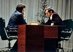 Борис Спасский и Бобби Фишер. Рейкьявик, 1972 год