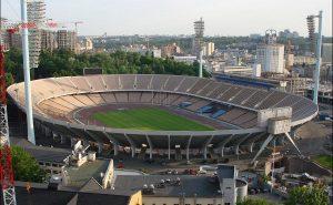 «Олимпийский» незадолго до последней реконструкции