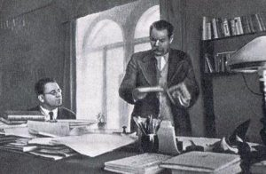 Самуил Маршак и Максим Горький