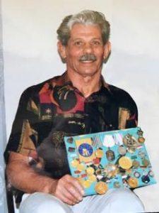 Григорий Гамарник с наградами