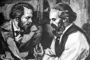 Карл Маркс и Фридрих Энгельс