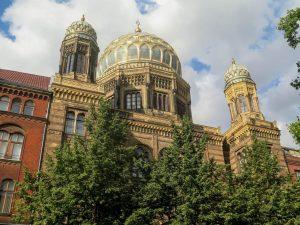 Синагога в мавританском стиле в Берлине