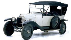 Citroёn Type A. С него в 1919 году началась автомобилизация Европы
