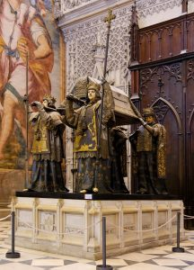 Гробница Колумба в Севилье