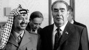 Встреча Леонида Ильича Брежнева с председателем исполкома Организации освобождения Палестины (ООП) Ясиром Арафатом, прибывшим в СССР с официальным визитом…